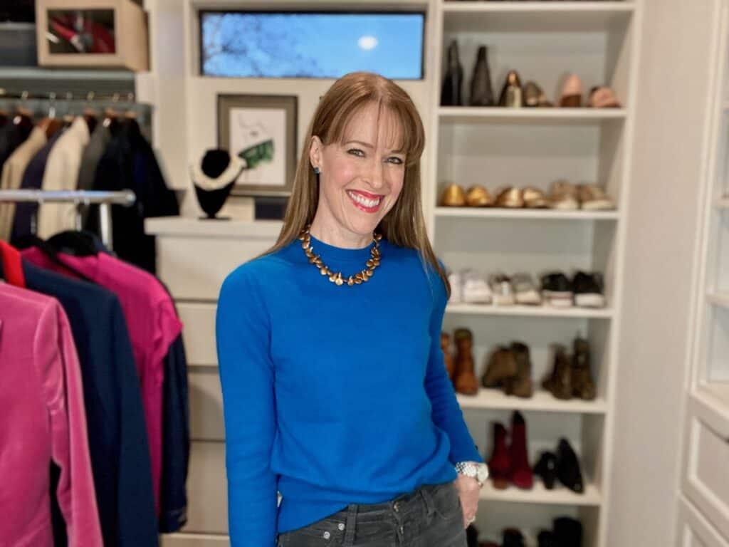 BethanyBlueSweater 1024x768 - Fall Fashion 2021