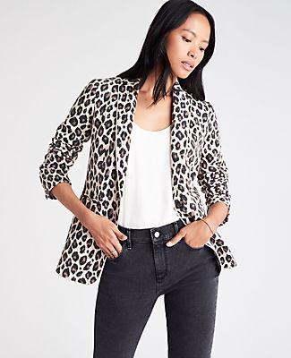 LeopardBlazer - Shop My Closet
